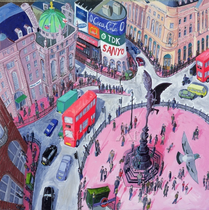 Piccadilly Circus, 2008 (oil o・・・