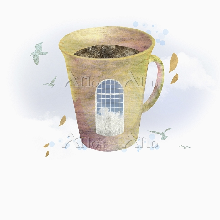 illustration of a coffee cup i・・・