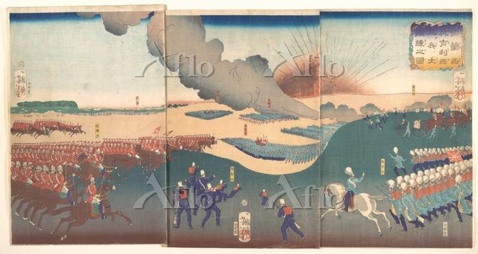 Tsukioka Yoshitoshi 1839-1892.・・・