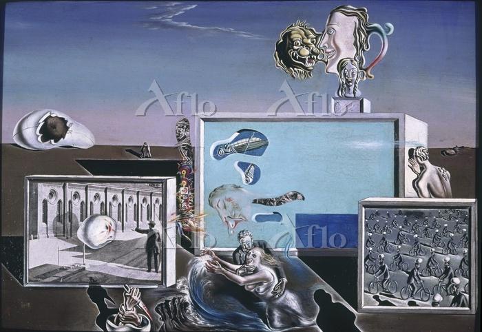 サルバドール・ダリ 「光に照らされた快楽」