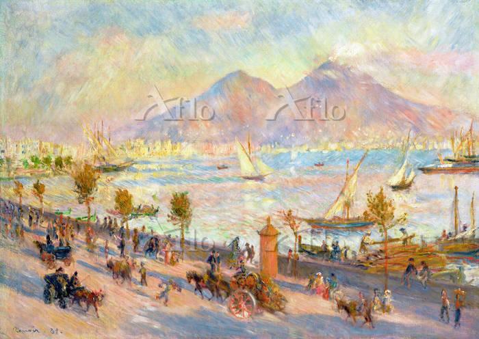 ルノワール 「ナポリの入江、夕刻」