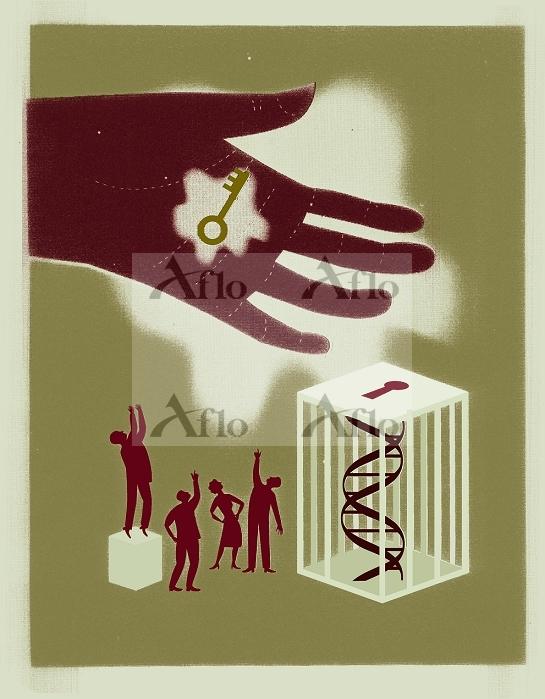 箱の中のDNAと鍵