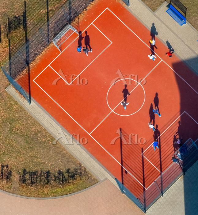 Basketball field Jahnschule, H・・・