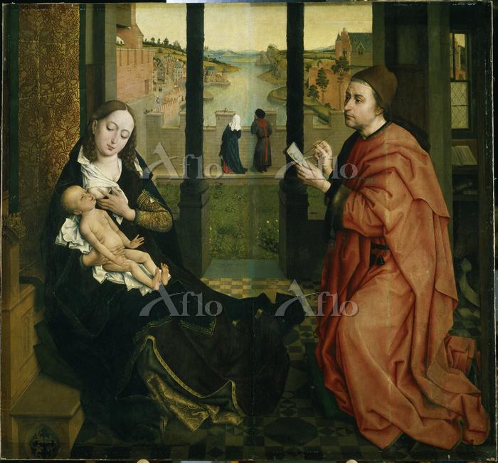 ウェイデン 「聖母を描く聖ルカ」