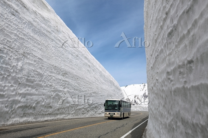 立山室堂 雪の大谷 富山