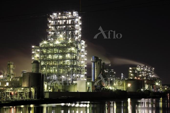 神奈川県 川崎の工場夜景