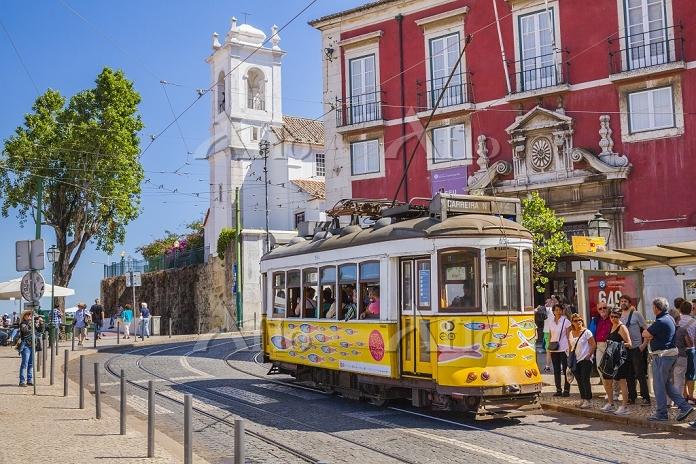 ポルトガル リスボン アルファマ 路面電車