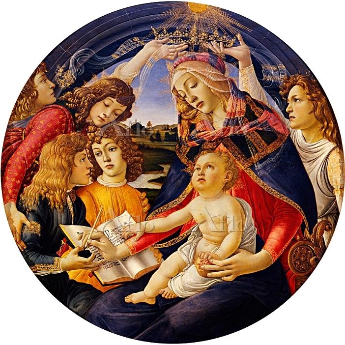 ボッティチェリ 「マニフィカトの聖母 」