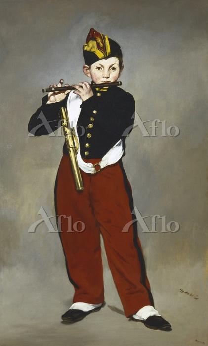 マネ  「笛を吹く少年」