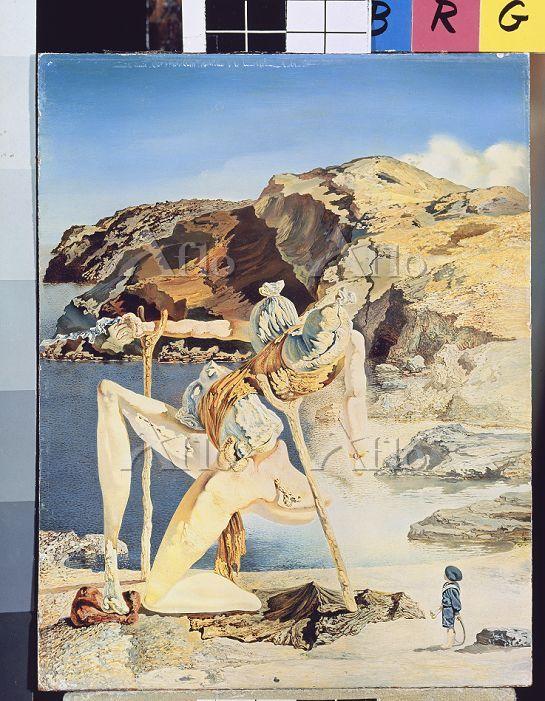 サルバドール・ダリ 「セックス・アピールの亡霊」