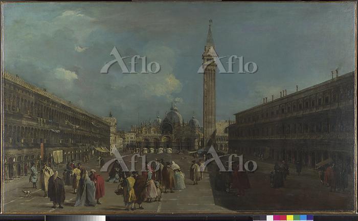 フランチェスコ・グアルディ「ヴェネツィア:サン・マルコ広場」