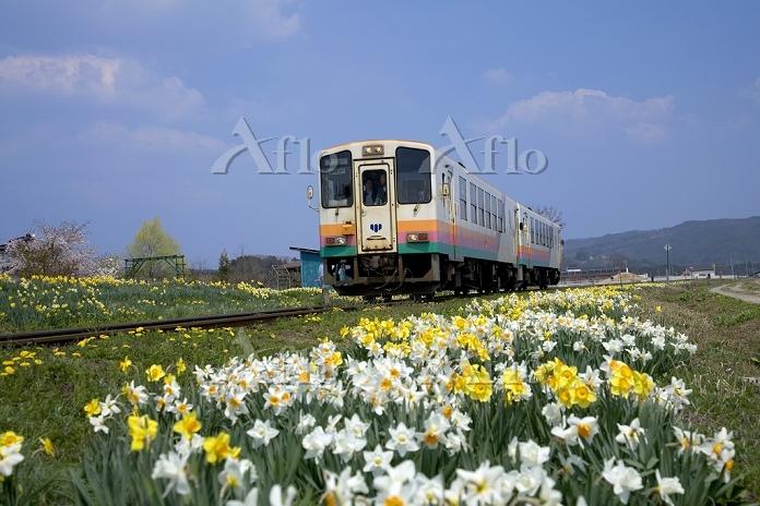 山形県 フラワー長井線