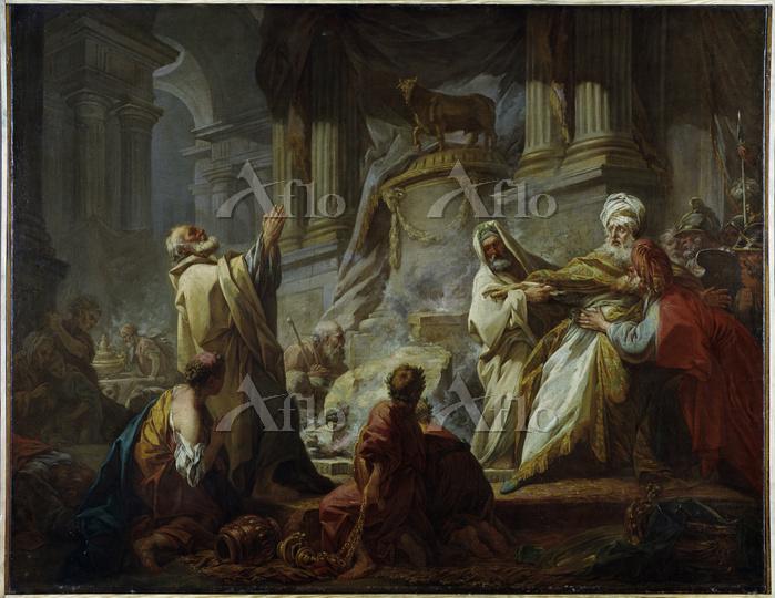 フラゴナール 「ヤロブアムの偶像崇拝」