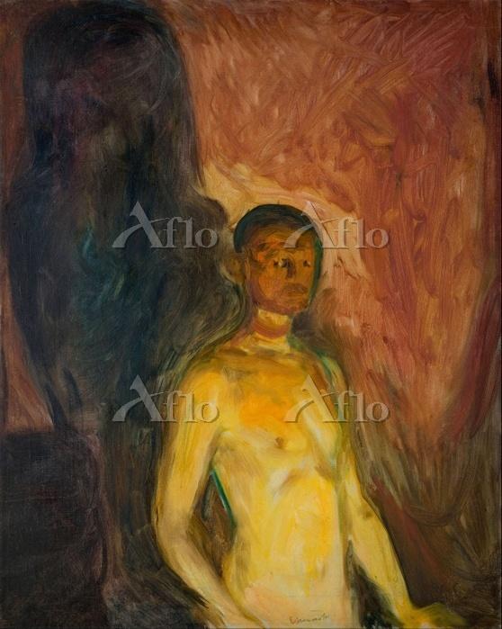 エドヴァルド・ムンク「地獄の自画像」