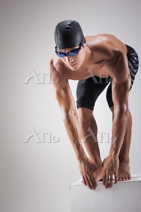 男子競泳 スタート
