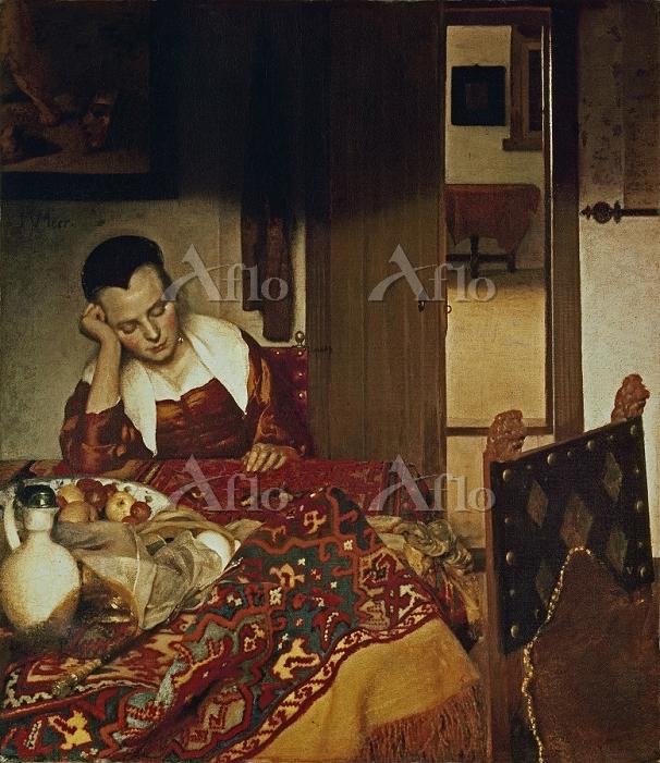 フェルメール 「眠る女」