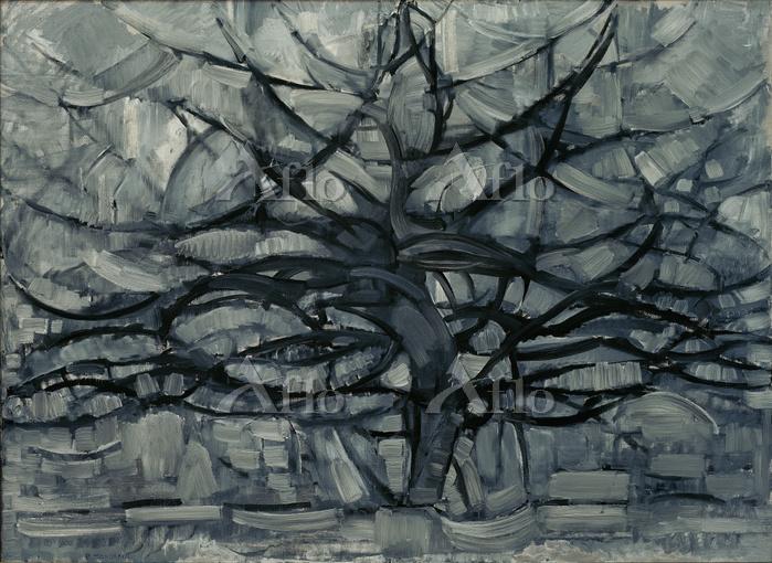 ピエト・モンドリアン 「灰色の木」