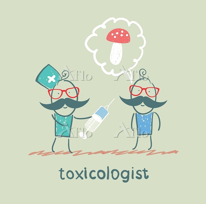 toxicologist makes the patient・・・