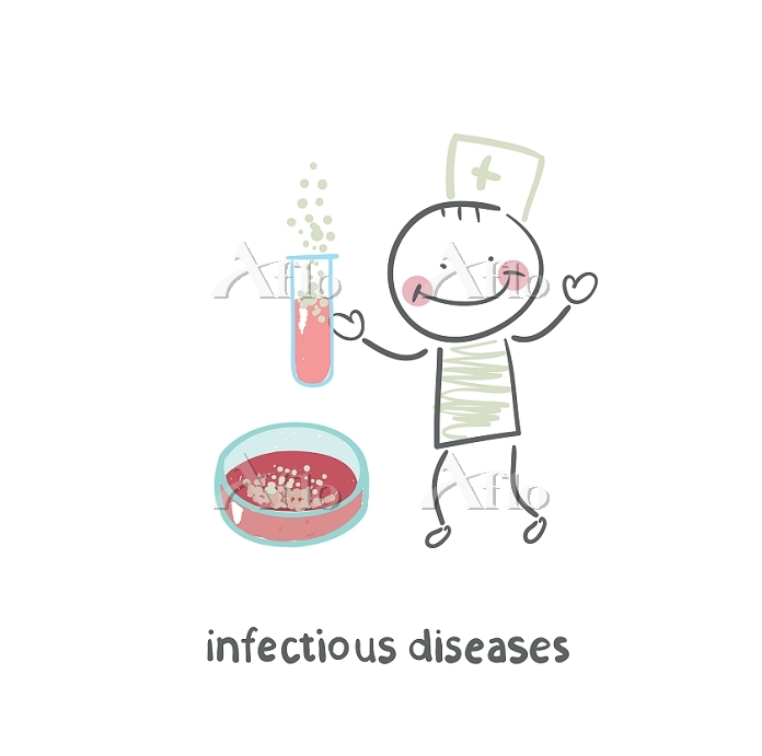 infectious diseases specialist・・・