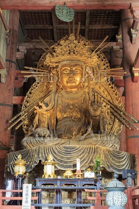奈良県 奈良市 東大寺 大仏殿 菩薩像