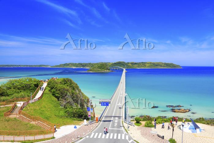 山口県 角島大橋と海士ヶ瀬公園