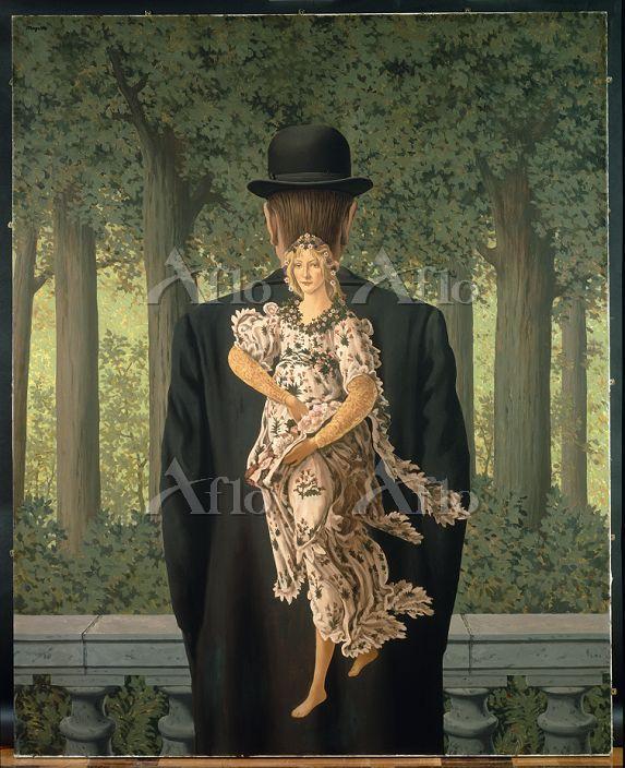 ルネ・マグリット 「レディ・メイドの花束」