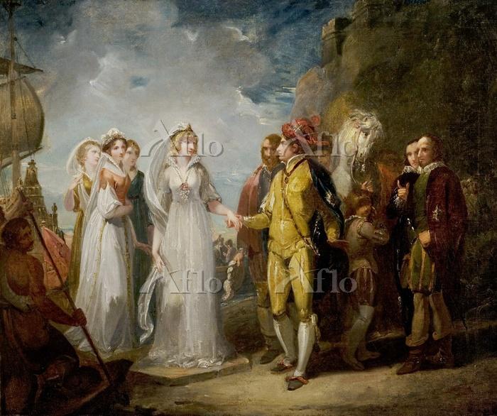 トーマス・ストザード 「フランス王女の到着(第2幕第1場)」