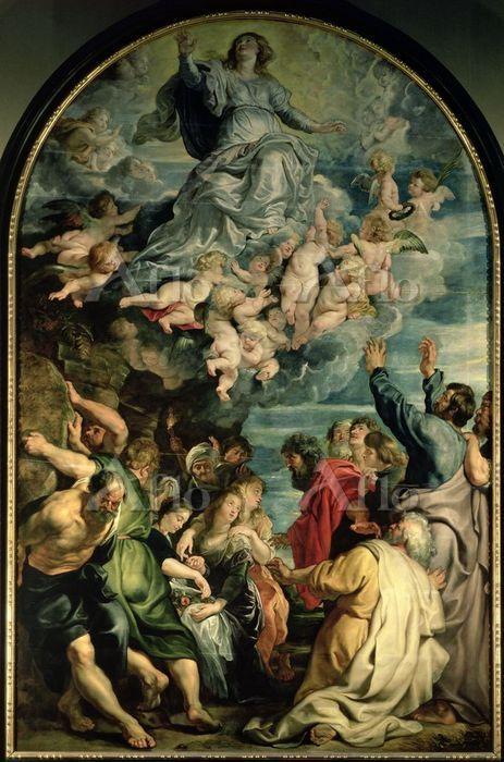 ルーベンス 「聖母被昇天」