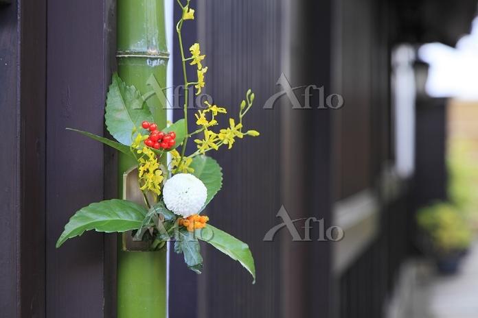 京都府 西陣の正月飾り