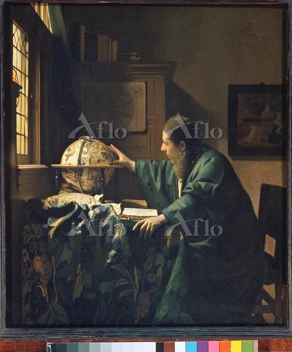 フェルメール 「天文学者」