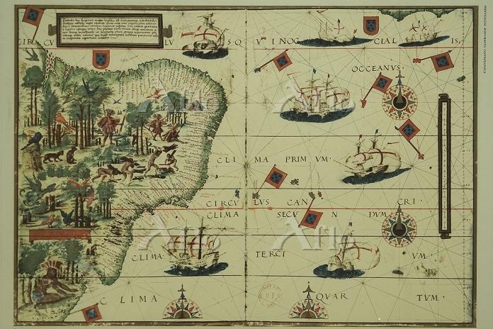 大航海時代の複製古地図
