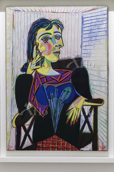 パブロ・ピカソ「ドラ・マールの肖像」
