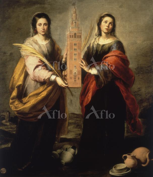 ムリーリョ「聖フスタと聖ルフィーナ」