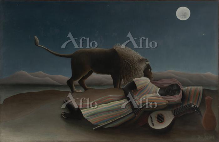 アンリ・ルソー「眠るジプシー女」