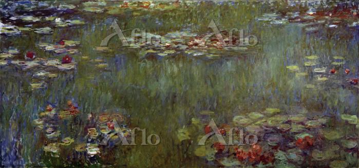 クロード・モネ「睡蓮の池、緑の反映」
