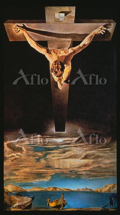 サルバドール・ダリ 「十字架の聖ヨハネのキリスト」
