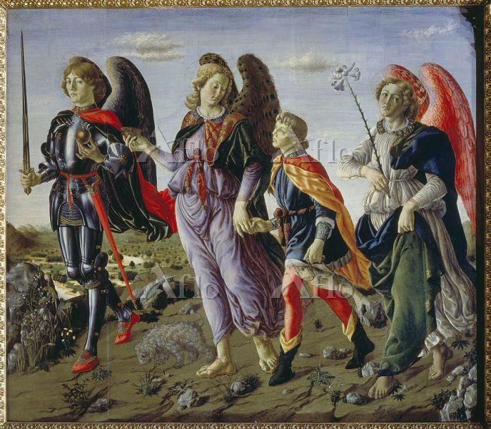 フランチェスコ・ボッティチーニ 「トビアスと3人の大天使」