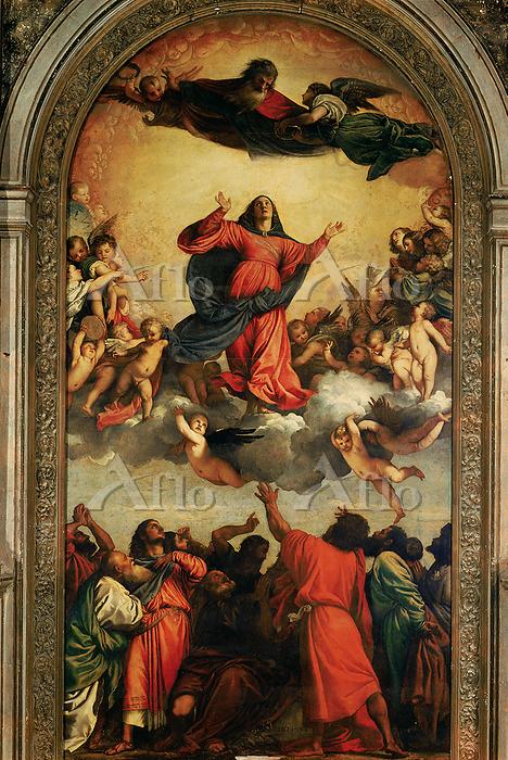 ティツィアーノ 「聖母被昇天」
