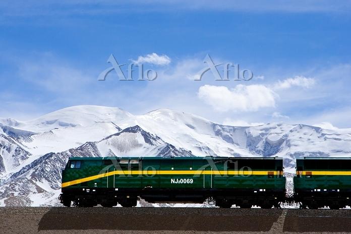 中国 チベット 青蔵鉄道