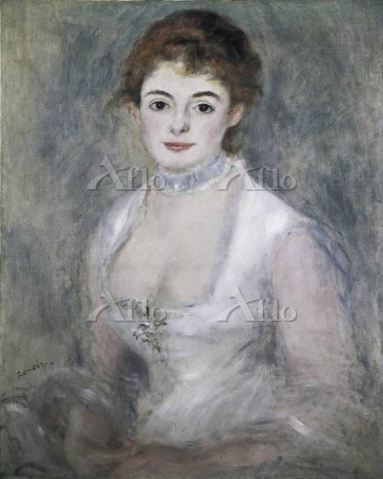 ルノワール  「アンリオ夫人」