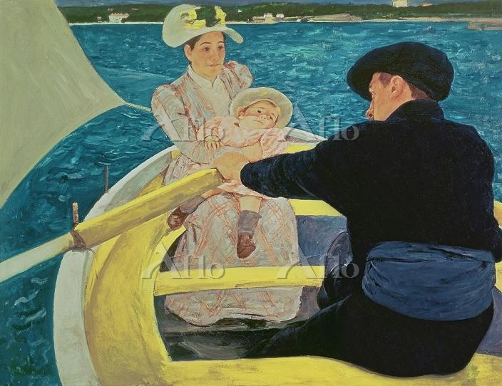 メアリー・カサット 「舟遊びする人たち」