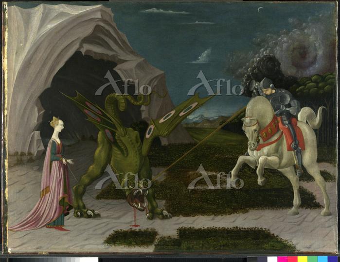 ウッチェロ「聖ゲオルギウスと竜」