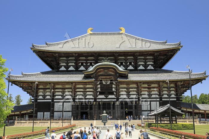 奈良県 東大寺の大仏殿