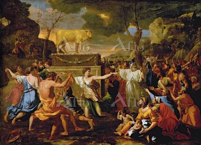 ニコラ・プッサン 「黄金の子牛の礼拝」