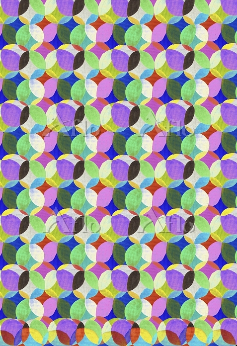 Colorful overlapping dots desi・・・