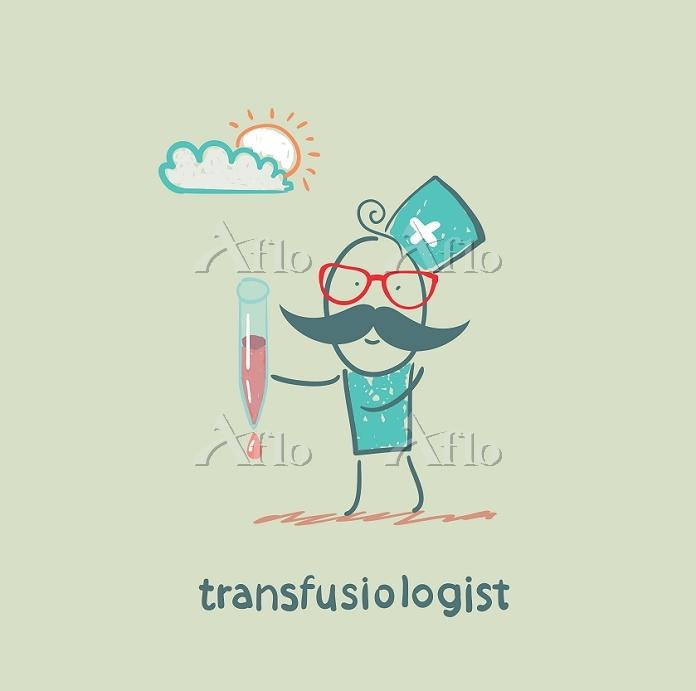 transfusiologist is blood tran・・・