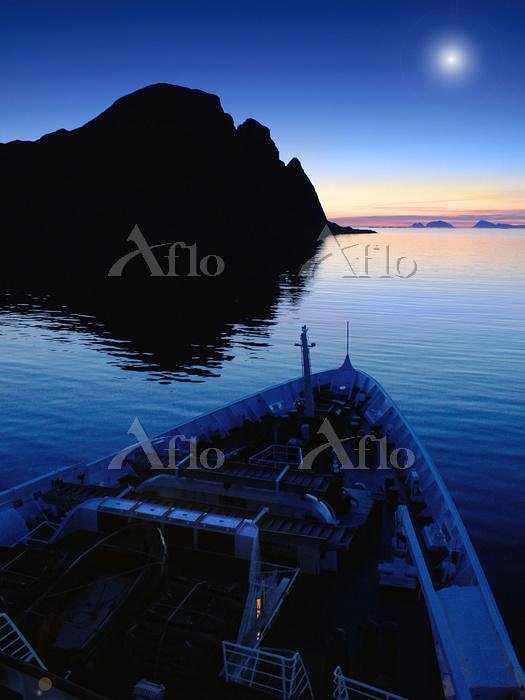 ノルウェー ロフォーテン諸島 白夜