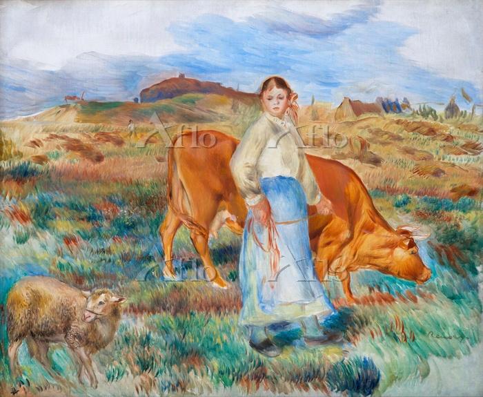 ルノワール 「羊飼いの娘」