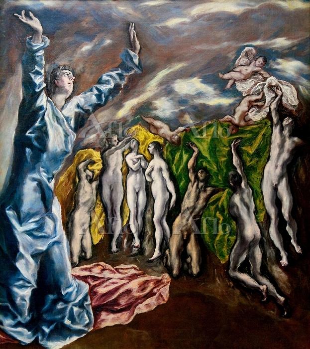 エル・グレコ 「第五の封印」