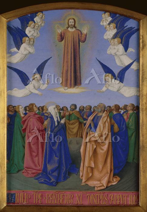 ジャン・フーケ 「キリストの昇天」